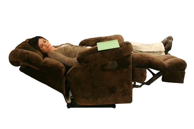 Recliners adaliz furniture for Catnapper jackpot chaise